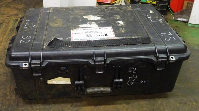 No labelling on container indicating proper storage instruction or hazards of contents