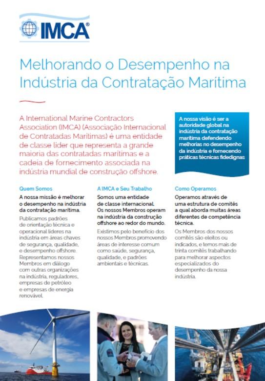 IMCA Flyer - Portuguese